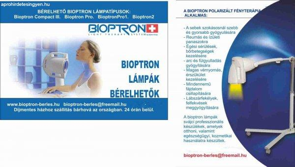 Bioptron fényterápia